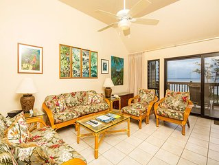 Watch the Waves! Island Style w/Updated Kitchen+Bath, Lanai, DVD, WiFi–Kaha Lani