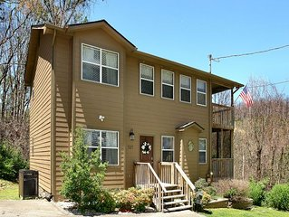 2BR/2BA Chalet loaded with amenities.  Recently upgraded with loft game room, ho