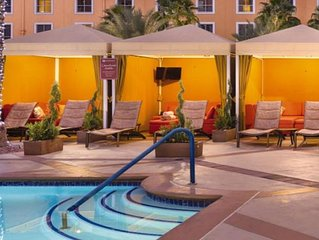 Stay at Grand Desert, just a mile from The Strip!