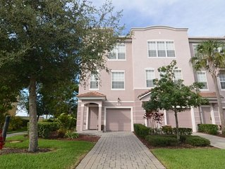 This luxury end-of-row 3 bedroom, 3.5-bathroom townhouse is spacious and attract