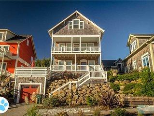 Third-Floor King Suite, Hot Tub, in This Ocean-view Olivia Beach Beauty!