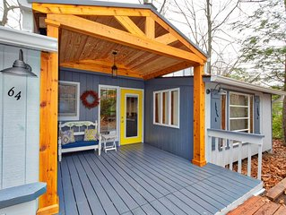 Covered porch is a fantastic place to begin or end your day the carefree way!