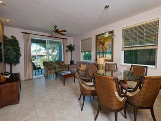 Island Chic! Ground Floor Lanai, Modern Kitchen, WiFi, Laundry+AC–Halii Kai Waik