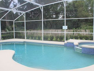Lovely 3 bed 2 bath pool home at Indian Ridge Oaks close to Disney