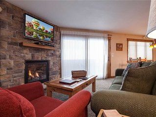 P105 by Mountain Resorts: Premier Unit ~ Walk to Summer Activities ~ Pool ~ Exer