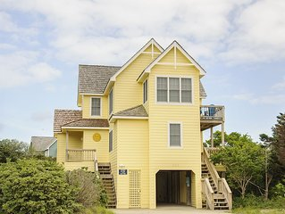 La Marina: Have a great summer vacation in this soundside home in Nags Head.