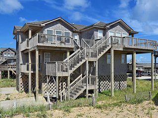 Sunrise Cottage- Excellent Ocean Views- Steps to Beach- Community Pool