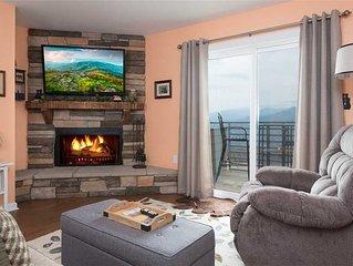 Gatlinburg Summit Condo #6208| WOW Mountain Views| Cozy| Indoor & Outdoor Pool|