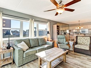 'Flash Sale', 1st Floor Corner oceanfront condo, bright & airy.  Easy boardwalk