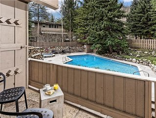 Comfortable 2 Bedroom - walking distance to Town, part of the Aspen Alps