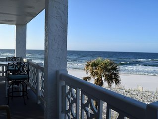 Corner Unit on the Gulf - Nothing but Beach!