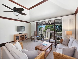 Family Pick for 2-Level Privacy, Full Kitchen, WiFi, Lanai–Kiahuna Plantation #2