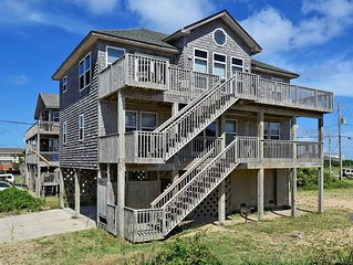 Shell Castle Cottage- 4 Bdrm- Steps from beach- Community Pool & Spa