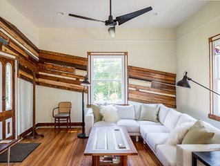 Blue Bungalow | Renovated 1890's Farmhouse, close to UVA and Downtown.