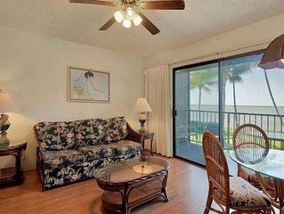 Tropical Style+Great View! Kitchen, Lanai, Flat Screen, Ceiling Fans–Molokai Sho