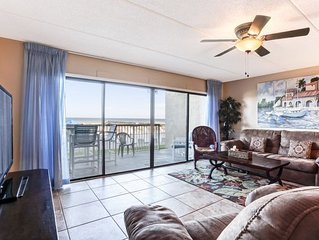 1st floor oceanfront condo with easy beach access via boardwalk.  Enjoy only fis