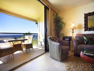 Super View+Island Style! 2-Level w/Lanai, Kitchen, WiFi, Washer/Dryer–Makahuena