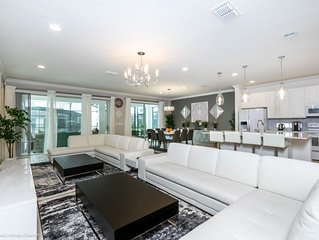 The Ultimate 10 Bedroom 8  Bathroom Sonoma Resort Villa Only Minutes To Disney