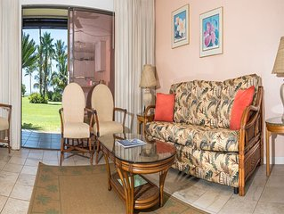 Live Local Style! Private Lanai, Ocean View, Kitchen, Flat Screen TV+Ceiling Fan