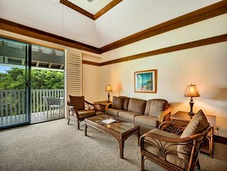 Laid Back w/Tropical Feel, Lanai Ease, Ceiling Fans, WiFi–Kiahuna Plantation #24