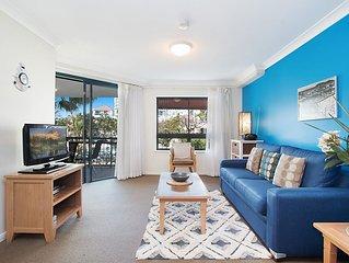 Calypso Plaza Resort Unit 217 - Central Coolangatta beachfront location with Wi-