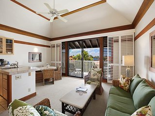 Tropical Poipu Style! Kitchen Ease, WiFi, Lanai, Ceiling Fans, Flat Screens–Kiah