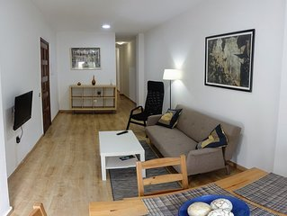 Centric One Bedroom Flat in Santa Cruz 3A