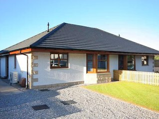 Modern, newly built holiday home on the Black Isle