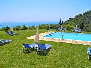 Apartments with pool 'adonis' in Pelekas Beach Corfu