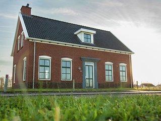 Spacious Villa in Colijnsplaat with Sauna