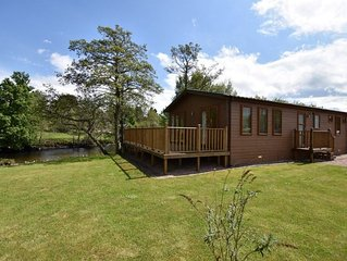 The Ardle Lodge with Hot Tub Sleeping up to 6 persons.