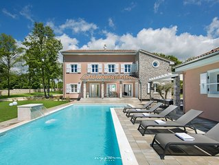 Luxury villa with pool in Central Istria