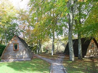 Braidhaugh Wigwams (standard) Sleep up to 4 persons, 2 adults are included.