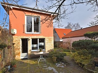 Cosy holiday home in Wernigerode with fireplace and private terrace