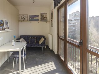 Pietramellara  apartment in Bologna with WiFi, integrated air conditioning, balc