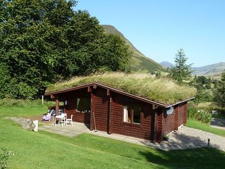Log Cabin with Hot Tub | Sleeps 4 | In the Cairngorm National Park | Accepts Dog