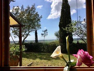 Casa Barbara con vista mare Wi-Fi Casale Marittimo