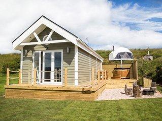 A deluxe beach hut that sleeps 4 guests  in 0 bedrooms