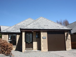 Ideal Family holiday bungalow in Aviemore with secure garage and off road parkin