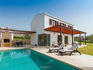 Modern villa with private pool in Central Istria