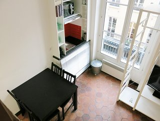 Studio Classic Odeon apartment in 06eme - St Germain des Pres with WiFi.