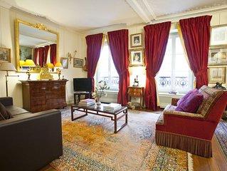 Spacious Champs-Elysées Palace apartment in 08ème - Champs Elysées with WiFi, a