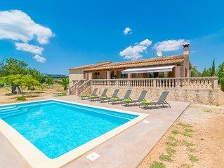 SON PAX - Villa con piscina privada en Palma de Mallorca.