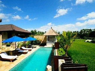 The Aura Ubud - Honeymoon Villa With Rice Field View.