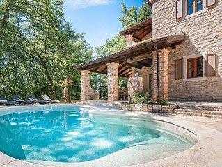Beautiful stone villa amidst lovely surroundings