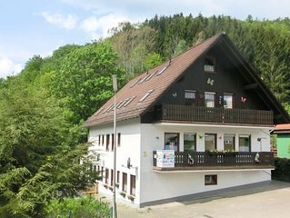Large apartment on the edge of the Harz National Park with garden and terrace