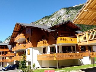2 Bedroom Apartment 300 m to Ski Lift, La Chapelle d'Abondance