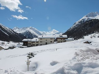Apartment at just a few steps away from the ski lifts