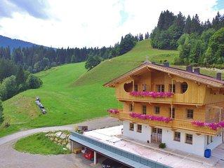 Peaceful Villa near Ski Area in Westendorf