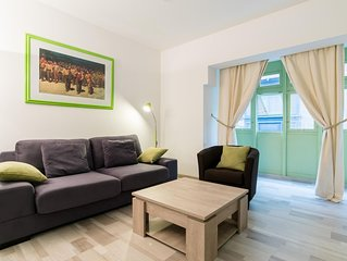 South Valletta  apartment in Malta with WiFi, air conditioning & balcony.